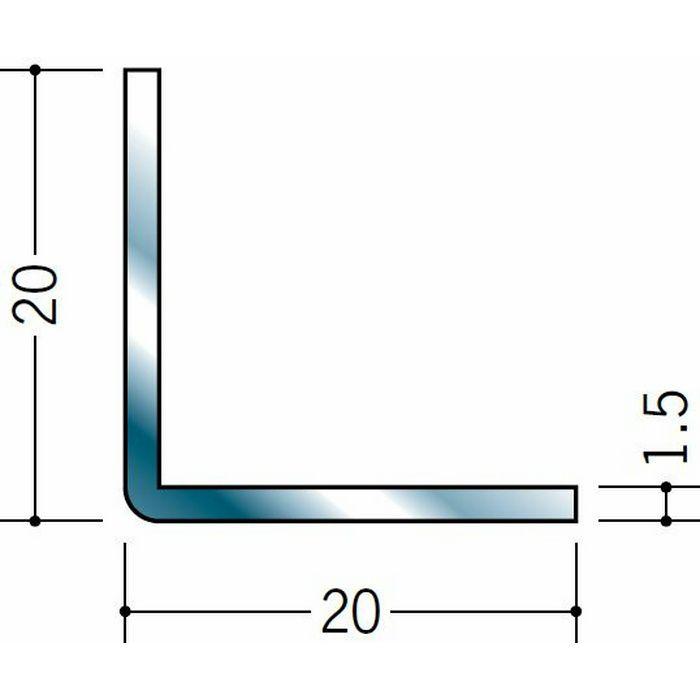 アングル ステンレス アングル1.5x20x20 H.L 3m  20035