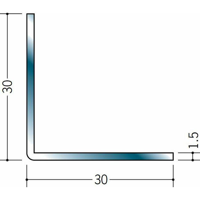アングル ステンレス アングル1.5x30x30 H.L 3m  20037