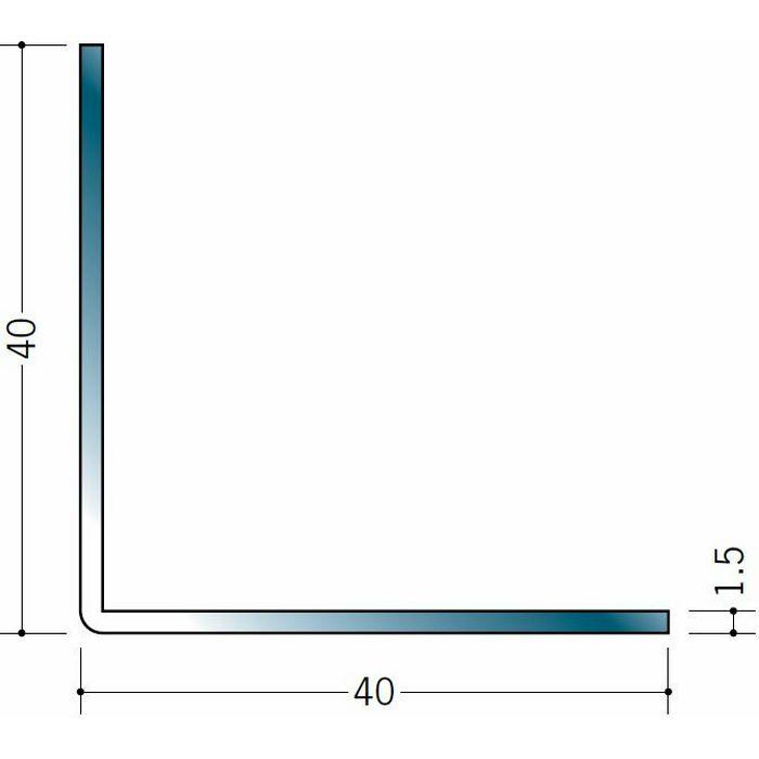 アングル ステンレス アングル1.5x40x40 H.L 3m  20038