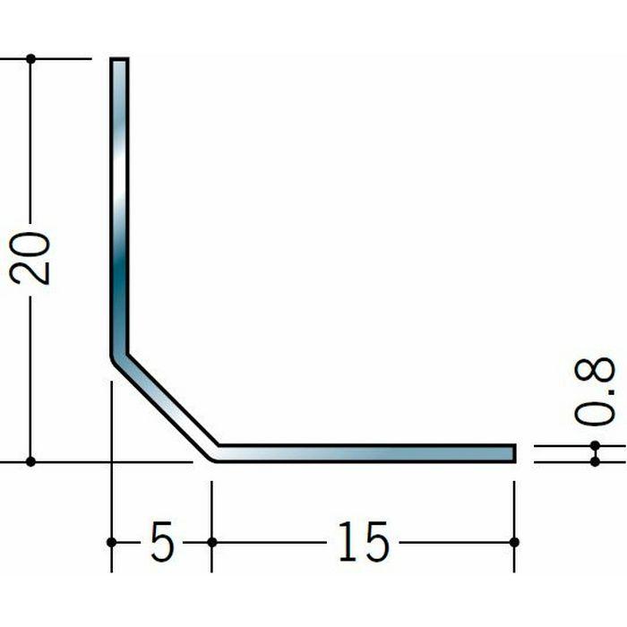 アングル ステンレス 5mm面取アングル20 H.L 3m  20015