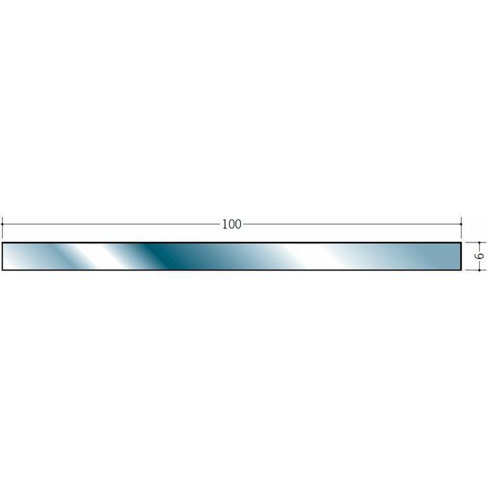 平角(フラットバー) ステンレス 平角6x100 H.L 2m  20144