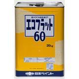 エコフラット60 淡彩 20kg 石油缶入り