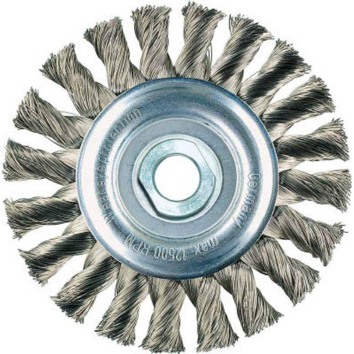 ホイールブラシ Φ115 高張度鋼線 0.5 472214