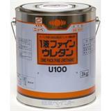 1液ファインウレタンU100 破風チョコ(255) 3kg ガロン缶入り