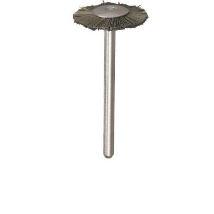 平型ブラシ アラミド繊維 線0.2X外径Φ20X軸Φ3 203H10 2590581