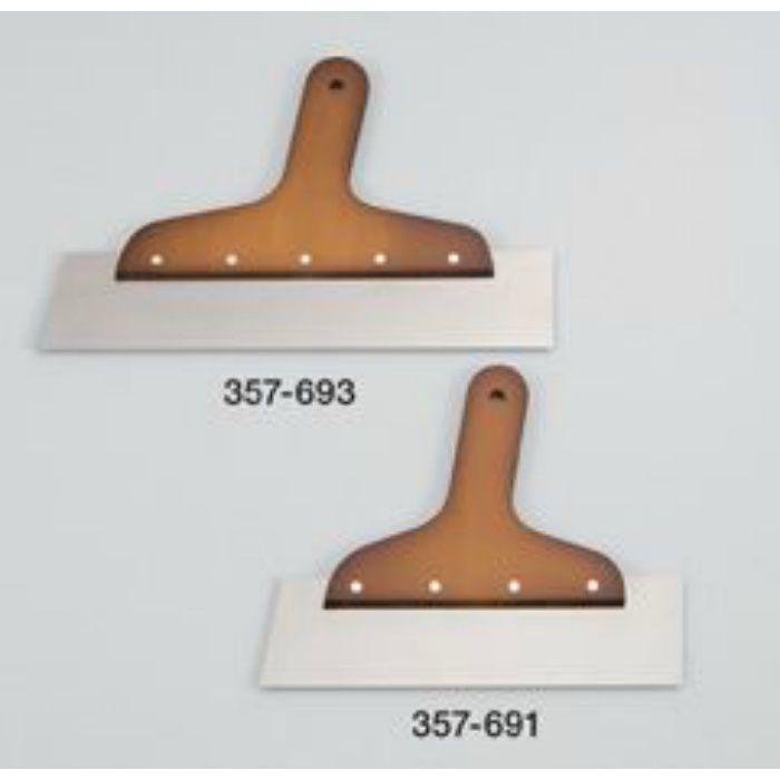 ライトT型地ベラ 8寸 0.5mm厚