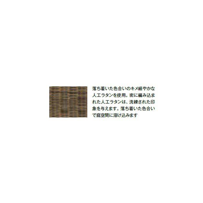 ガーデンファニチャー 人工(樹指)ラタン タリナ センターソファ ZHE-10MSF 25228200