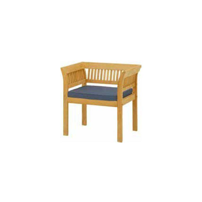 ガーデンファニチャー 天然木 フウガ アームチェアー チークスタイル TRD-039C 33884900