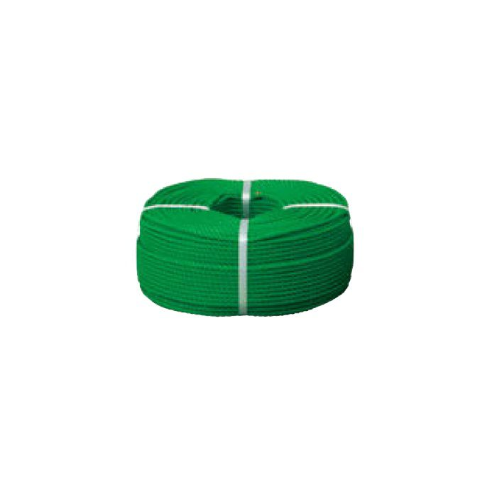 外柵ロープ ポリロープ NAD-ID12G 51265200 グリーン