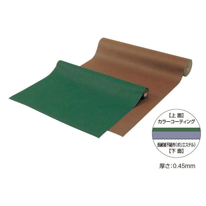 カラー防草・植栽シート 25m巻 TBB-25G 50682800 グリーン