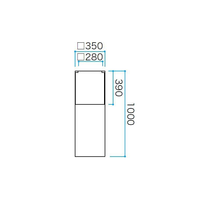 ファイバーストーン(マット) ロングポット トリル COP-031G 36606400 グレー
