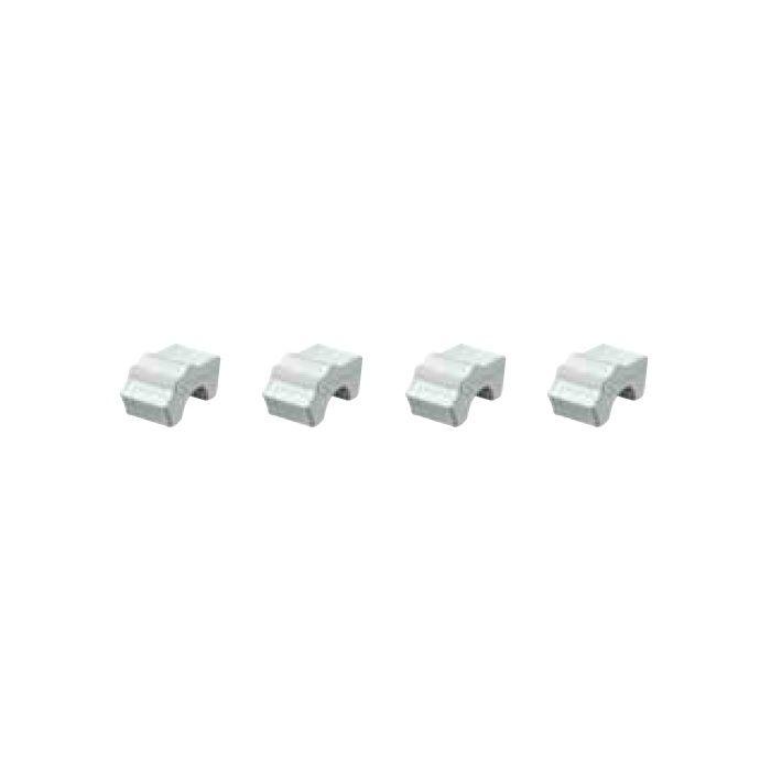 テラコッタ ポットフィート4個組 PIA-PF01W 36494700 ホワイト 4個/組