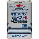 水性シリコンベストII ボローニャグリーン 15kg 石油缶入り