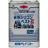 水性シリコンベストII ミラノグリーン 15kg 石油缶入り