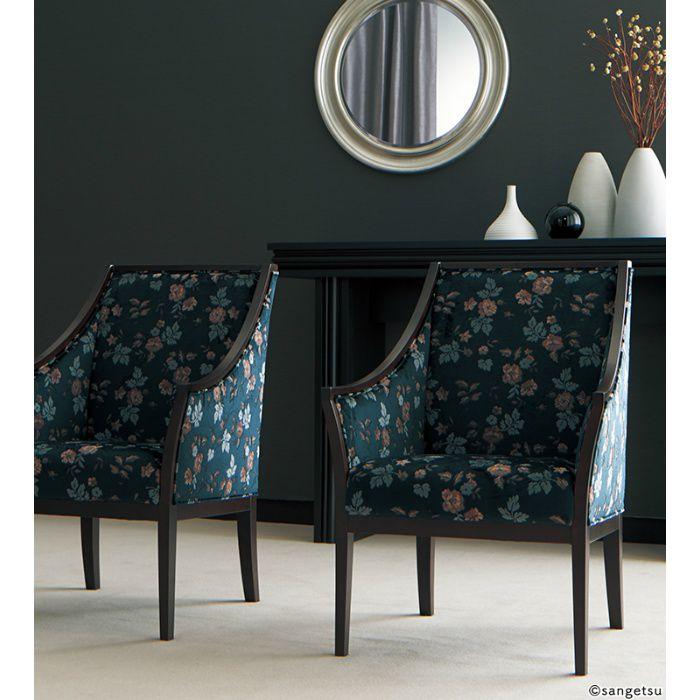 UP8098 椅子生地 Fabrics パターンスーペリア エラフォレスト