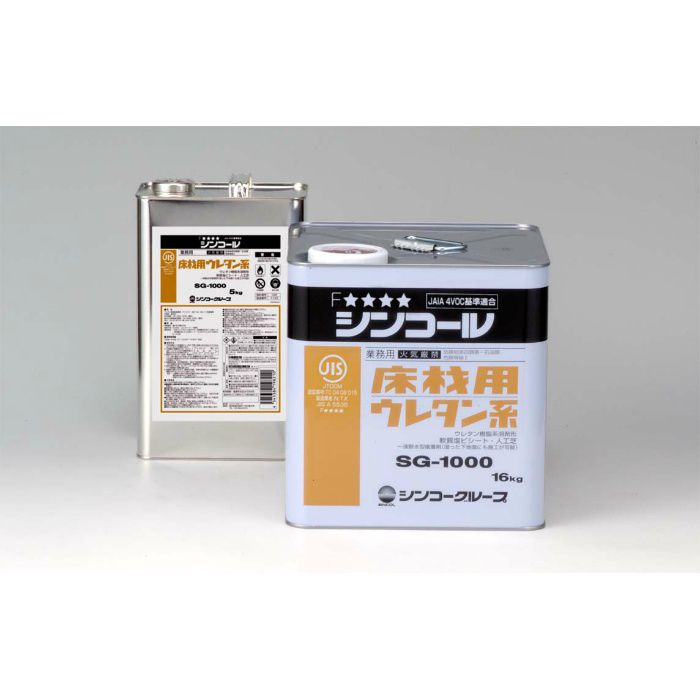 【5%OFF】SG-1000 ビニル床材用接着剤 16kg