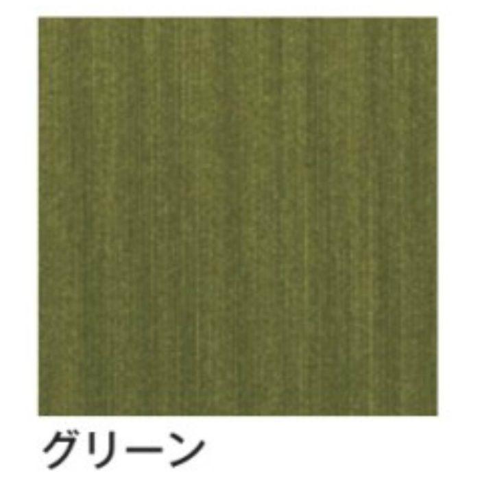 AX-103-2 ウォールアート カラー(ヘアライン調) グリーン 30cm角 3cm厚