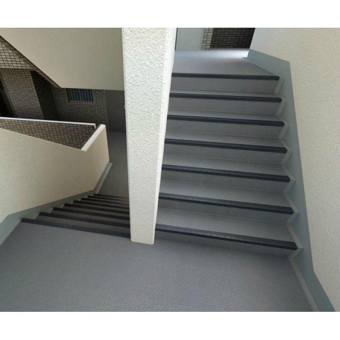 NSS811A5W 防滑性階段用床時(屋外仕様) 東リNSステップ800 Aタイプ(蹴込み一体型) 巾 1200mm