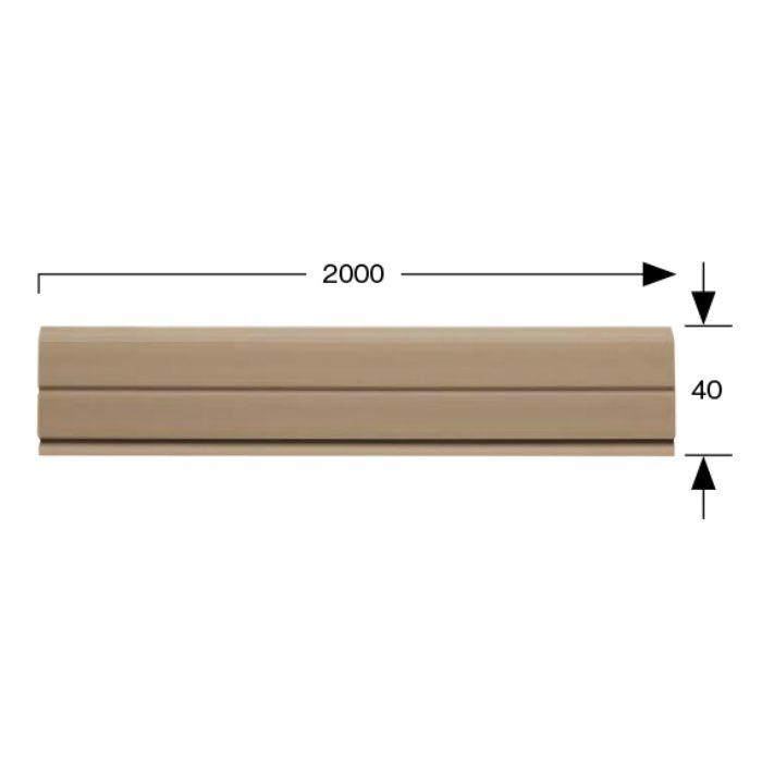 FBH02 ファブテックシリーズ ファブテック巾木 ブラウン