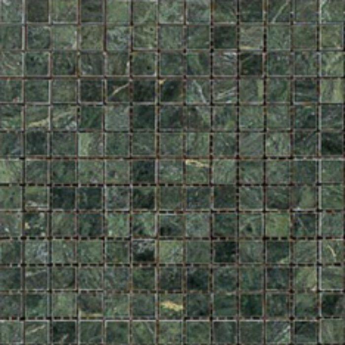 ZK7415 キエーザ 天然大理石モザイク 幾何学 / ヴェルデ