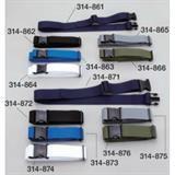 ワンタッチベルト 38mm ブルー 314863