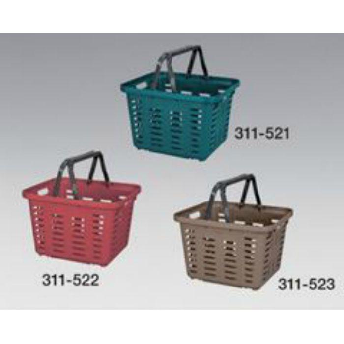 スーパーバスケットSB-370ブラウン 巾370×高245×奥行320mm 311523