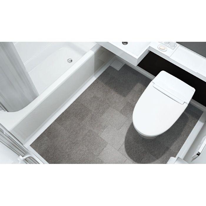 LN9004 洗面・トイレ付き浴室用床シート ラバナ モダンタイル