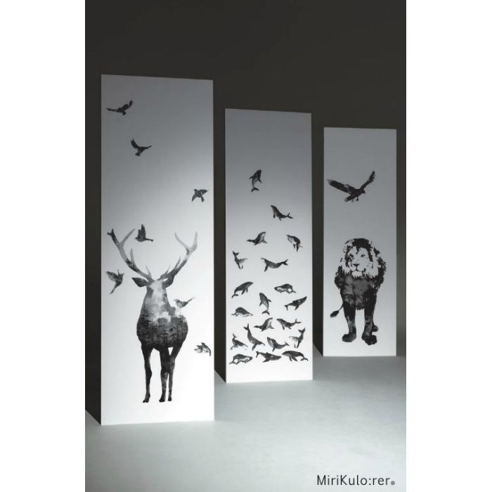 RPS-1942 ミリクローレル インクジェット壁紙 動物