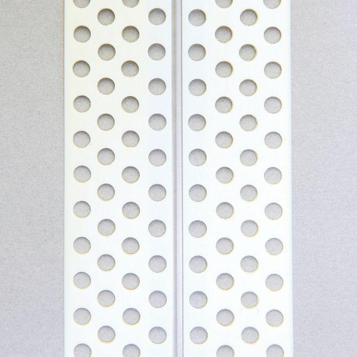 コーナー下地補強テープ HIPS コーナーテープ 50mm 幅 糊なし 4列穴 12-7001