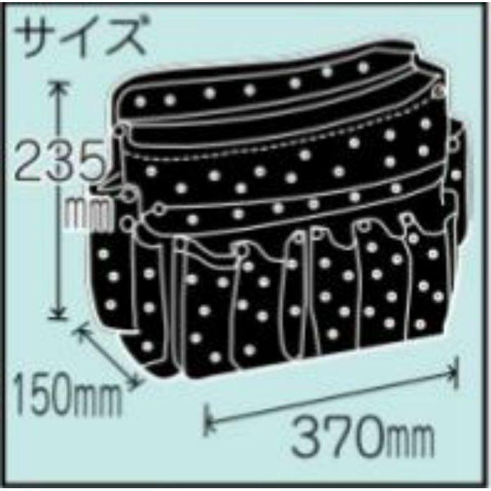 腰袋 ツールバック 水玉 11-8195