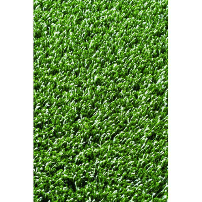 134-69347 リネンウール RUG MAT #4 グリーン 200cm×200cm