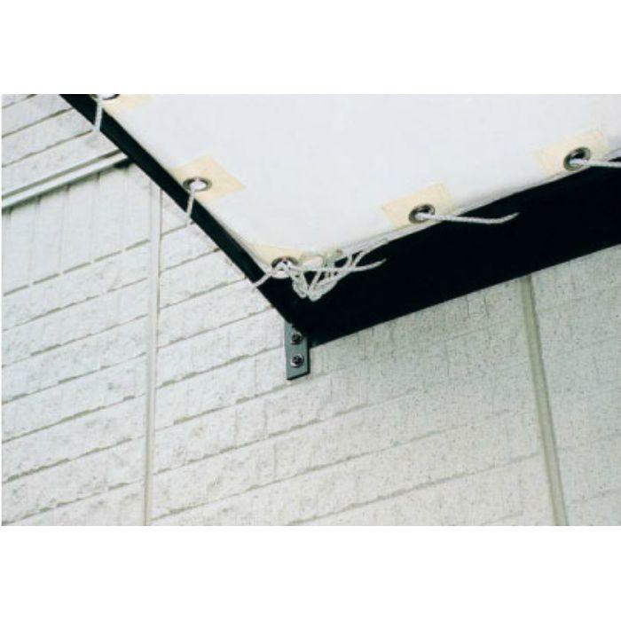 フレンチテラス用ルーフ(ロープ付) 2間用 完全防水タイプ FTR3620 フォレストグリーン