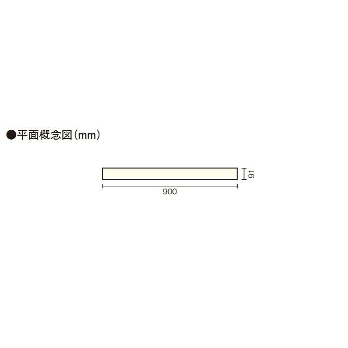 グランドフローリング<床暖房用> ナラ クリア塗装 FJ4162-B
