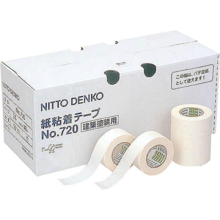 マスキングテープ(No.720) 24mm×18m巻 83-4014