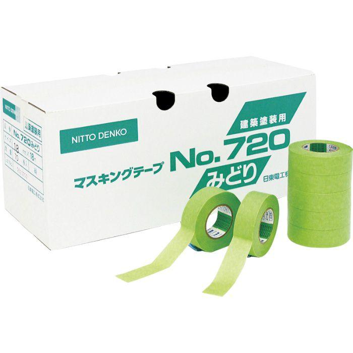マスキングテープ(No.720) 18mm×18m巻 83-4054