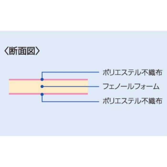 40-R6 ネオマフォーム 高性能フェノールフォーム 40mm厚 910mm × 1820mm