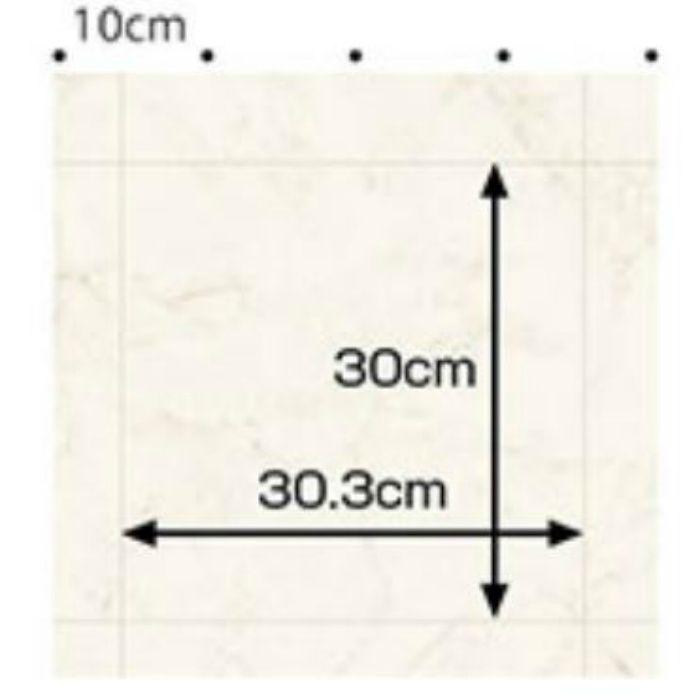 LHR-81931 らくらくリフォームPREMIUM クッションフロア (ビアンコカララ) 1.8mm厚