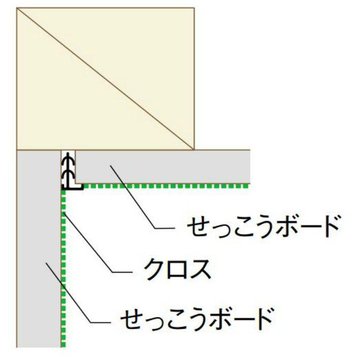 【ロット品】 挿すだけ見切6 SD6 1.82m ホワイト 100本/ケース