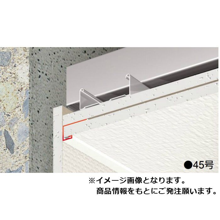 【ロット品】 F見切 D-4号 FD4 長さ1.82m シロ 100本(ジョイント付)/ケース