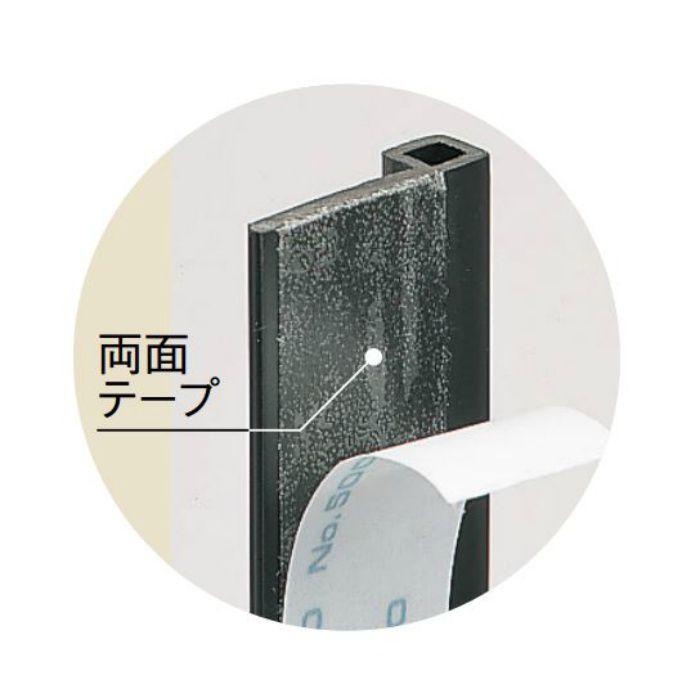 【ロット品】 サッシ見切2型 SUT2K 長さ2.12m ブラック 50本/ケース