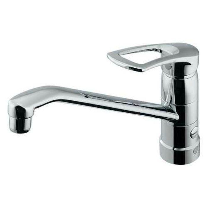 117-061 キッチン水栓 シングルレバー混合栓(分水孔つき)