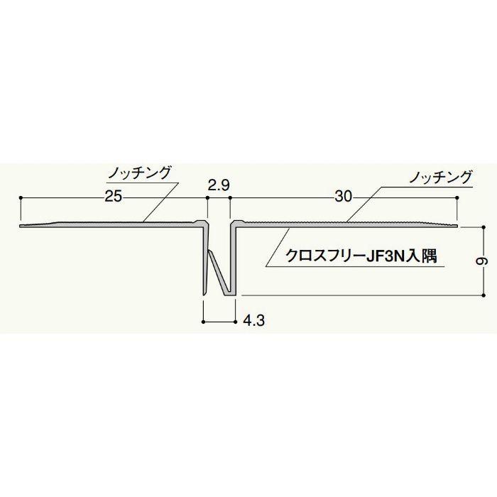 クロスフリー JF3N平目地 JF3R 2.5m ミルキーホワイト 50セット/ケース