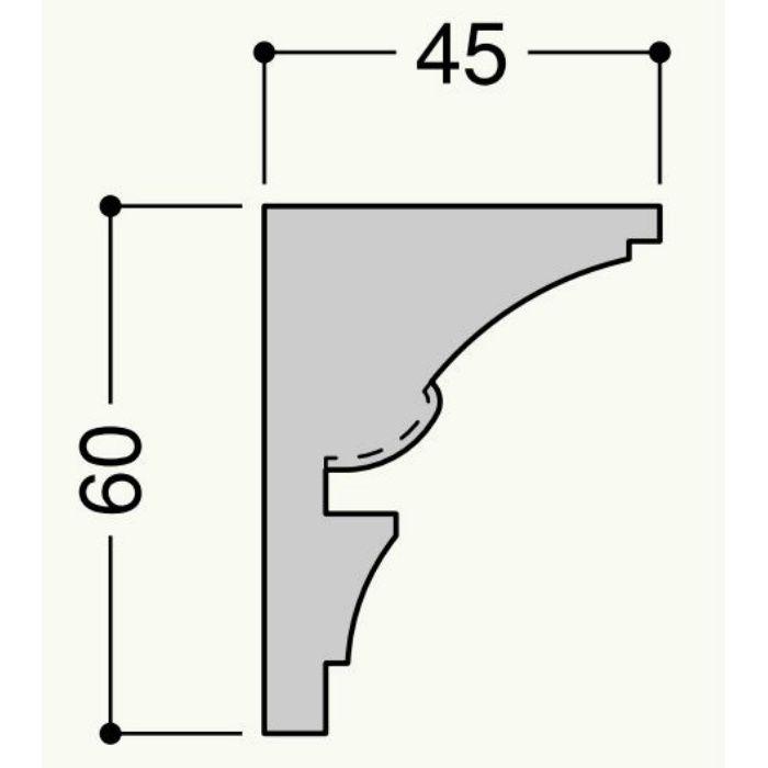 【ロット品】 クラシカル CH-01 CH01W 45mm×60mm×2m アーバンホワイト 4本/ケース