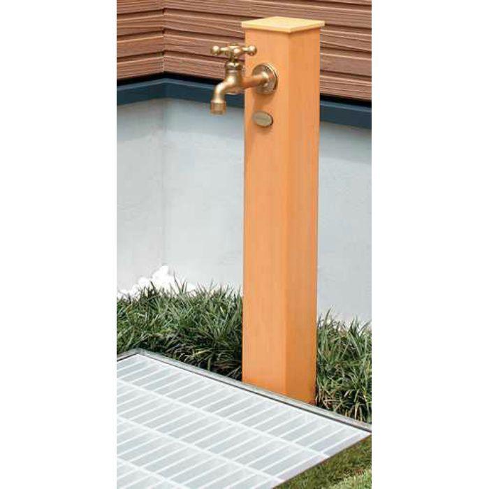 624-162 緑化庭園 水栓柱(樹脂木)