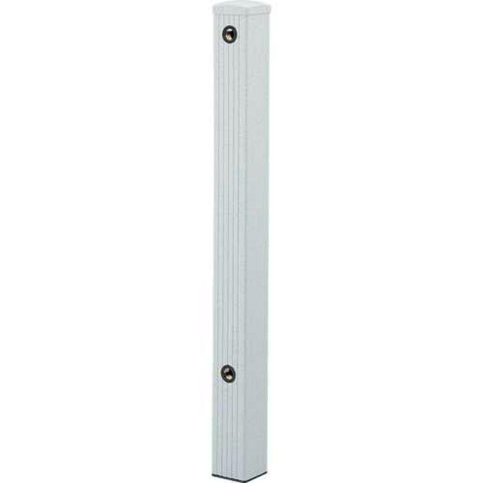 624-071 緑化庭園 水栓柱(ミカゲ) 80角 石目調(ミカゲ)