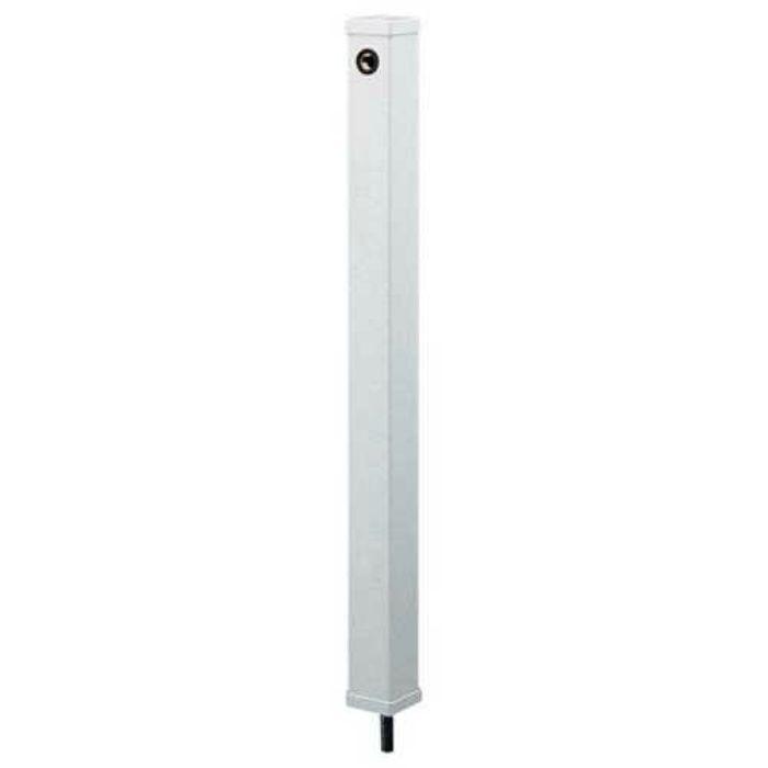 616-016 緑化庭園 水栓柱(ミカゲ) 70角 石目調(ミカゲ)
