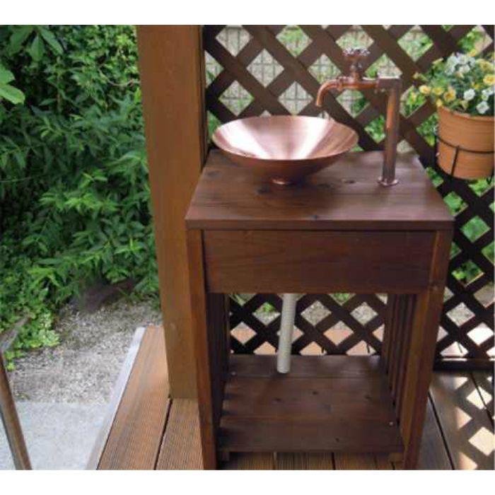 624-982 緑化庭園 木製ガーデンシンク