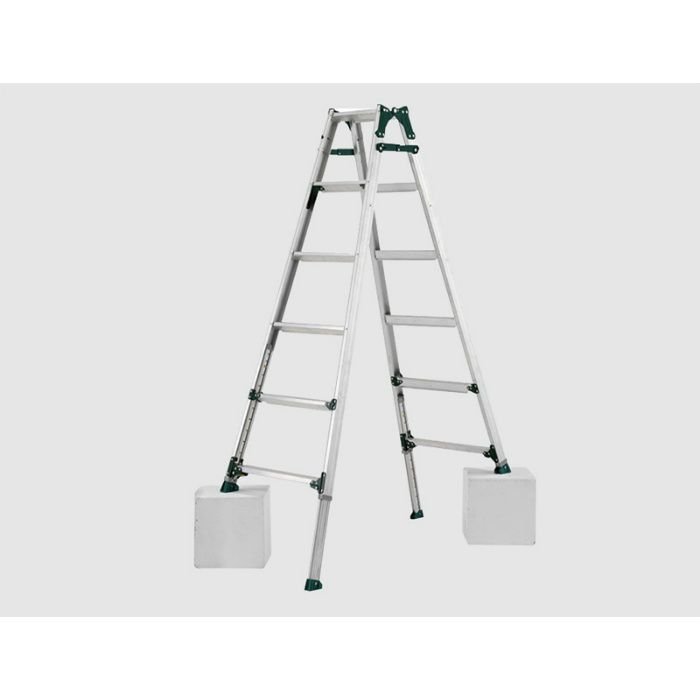 脚伸縮式兼用脚立 PRT(アルインコ) PRT-150FX 64-5527