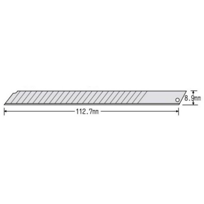 替刃 貝印 ロング24 超鋭角 24B-50 50枚×10本/ケース 63-1146