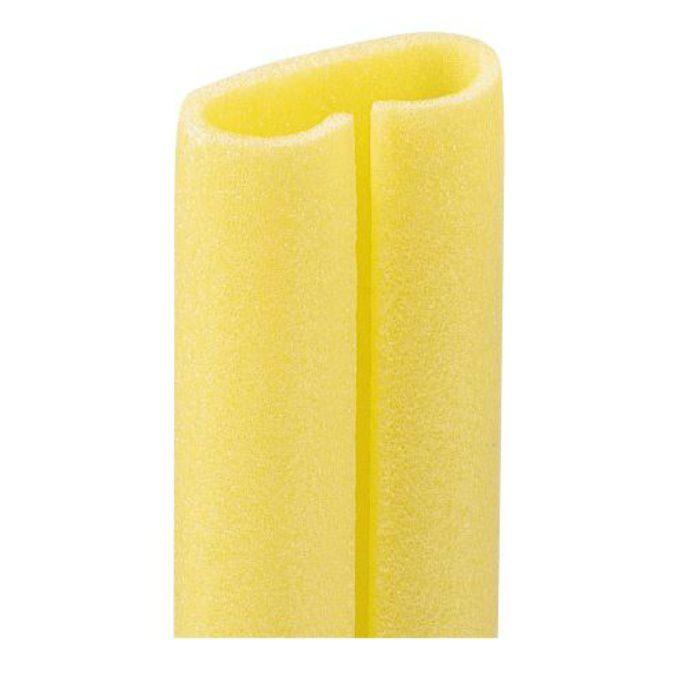 【ロット品】 クッションキーパーR KKR サイズ1.7m 対応サイズ90mm~160mm巾 黄 50本/ケース